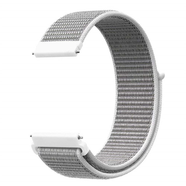 Band for Samsung Galaxy Watch 46mm/Gear S3 Frontier Classic 22mm 20mm Nylon Sport Loop Wrist Strap for Galaxy Watch 42mm/Gear S2 | Watchbands