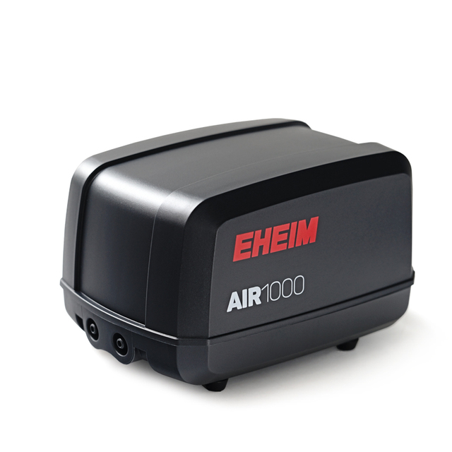 1000L/min EHEIM AIR 1000 Super Silent Two Outlet Aquarium Air Pump with Air Hose Air Stone for Fish Tank Pond Oxygen Air Aerator