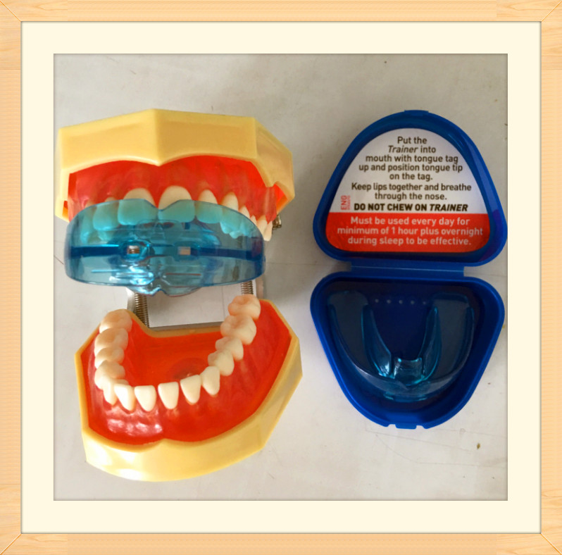 Купить с кэшбэком NDA Dental Oral Orthodontic Appliance Trainer Braces Tooth Correction Buck Teeth Keep You Beautiful High Quality Corrector