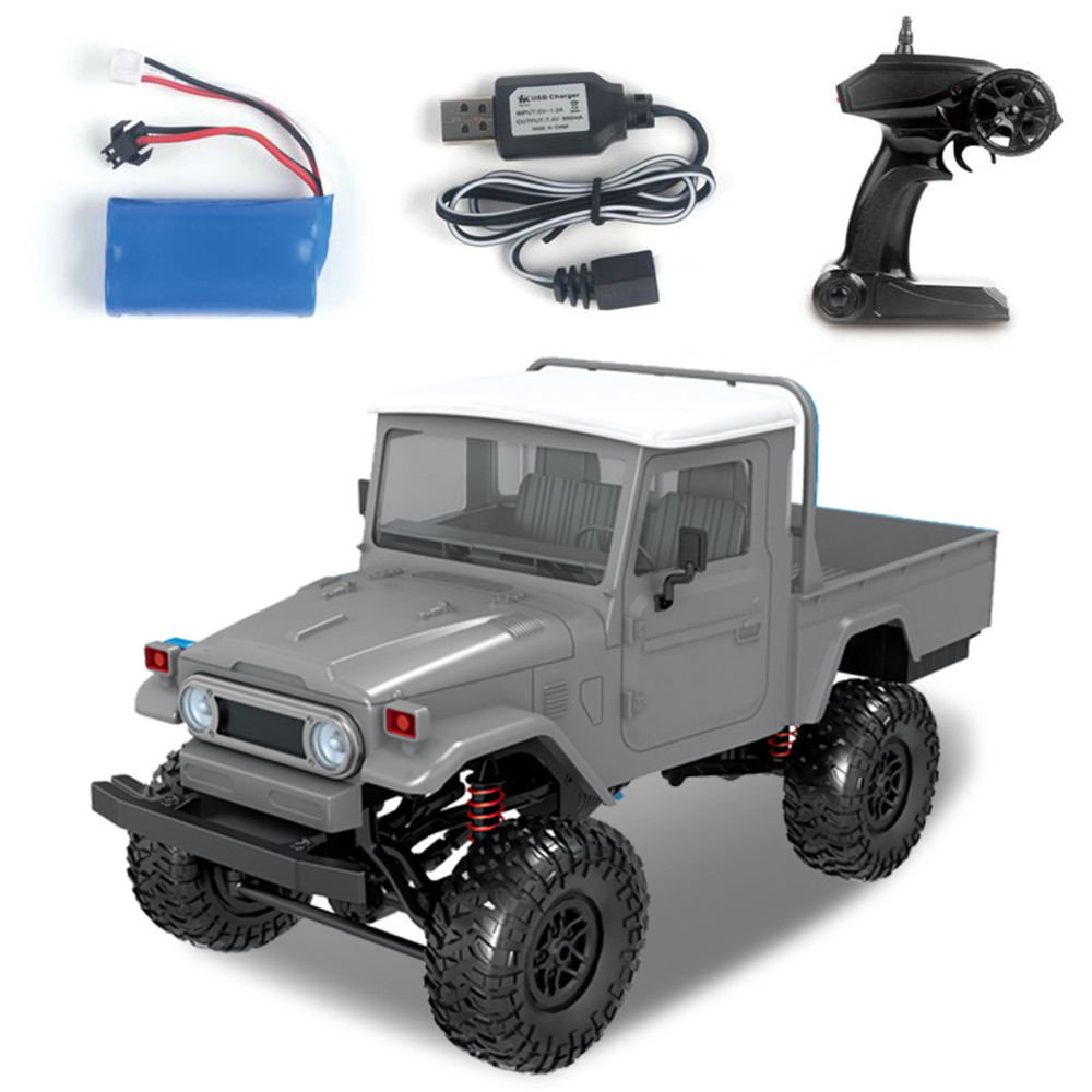 MN Model MN45 RTR 1/12 2.4G 4WD RC Car with LED Light Crawler Climbing Off road Truck RTR Kids Toys Gift-in RC Cars from Toys & Hobbies    2