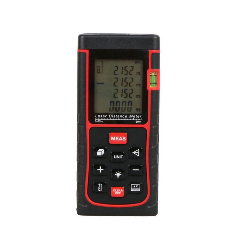 ФОТО Hot Worldwide 60M Mini Digital Handheld Laser Distance Meter Range Finder Measure Diastimeter