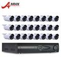 9 ТБ HDD 24CH NVR Система Видеонаблюдения Onvif H.264 1080 P 2-МЕГАПИКСЕЛЬНАЯ HD Пуля Открытый Видеонаблюдения 36 ИК Сети IP камера
