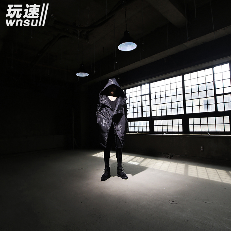 Dünner Dicken Mantel Plus Dark Warme In Herren Winter Flut Größe Schwarzes Kapuzenjacke Mode Kostüme Kleidung 2017 Neue Bühne Meßhemd Sängerin wn06RqO70