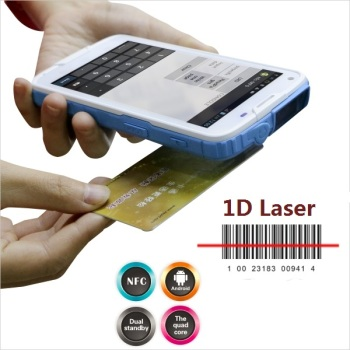 5 inch Display  Industrial  Android 1D Bar-code Scanner PDA with NFC,Bluetooth,WIFI,GPS,4G LS5S(1D)
