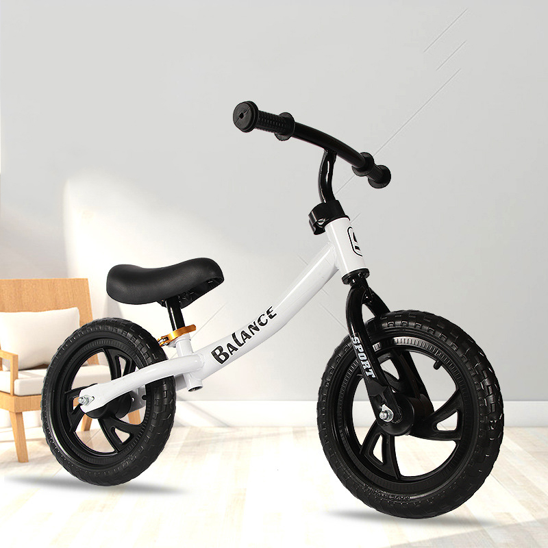 12 pouces deux roues en métal enfants Balance vélo 3-8 ans sans pédale glisser Walker Sense pour les enfants monter sur des jouets - 2
