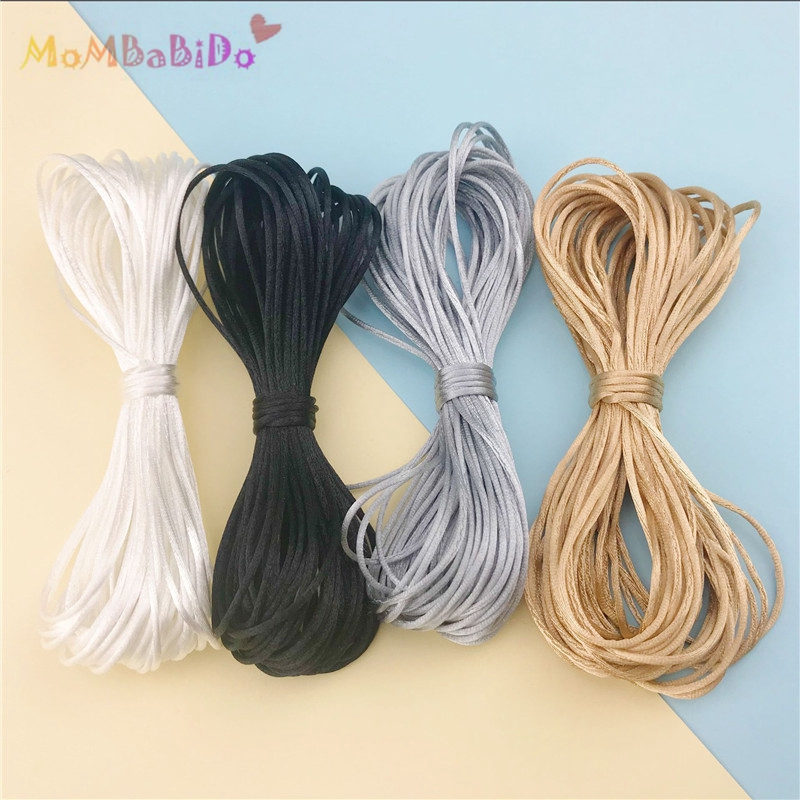 Reliable 20 Meters Satin Nylon Cord 2mm Silk Rope For Baby Teether Accessories Teething Pacifier Clips Chain Diy Project Nipple & Accessories