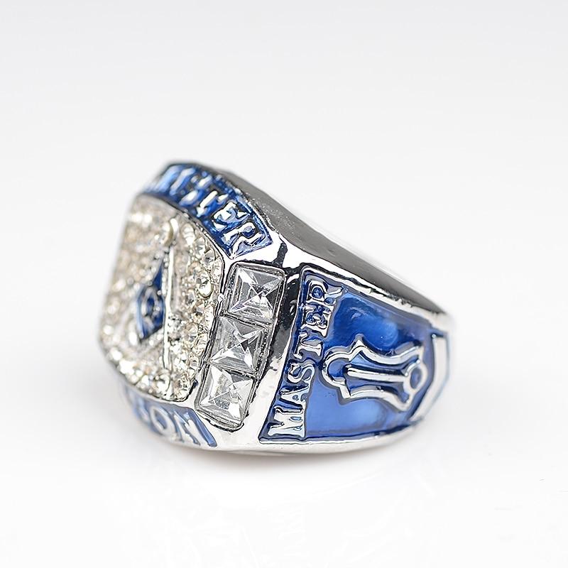 Master Mason MASONIC BLUE LOGO CHAMPIONSHIP RING BEAUTIFUL RING US ...