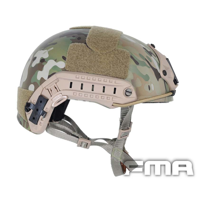 FMA Ballistic FAST Helmet Tactical Helmet Multicam TB460 M/L L/XL For Airsoft Paintball 2017new fma maritime tactical helmet abs de bk fg for airsoft paintball tb815 814 816 cycling helmet safety