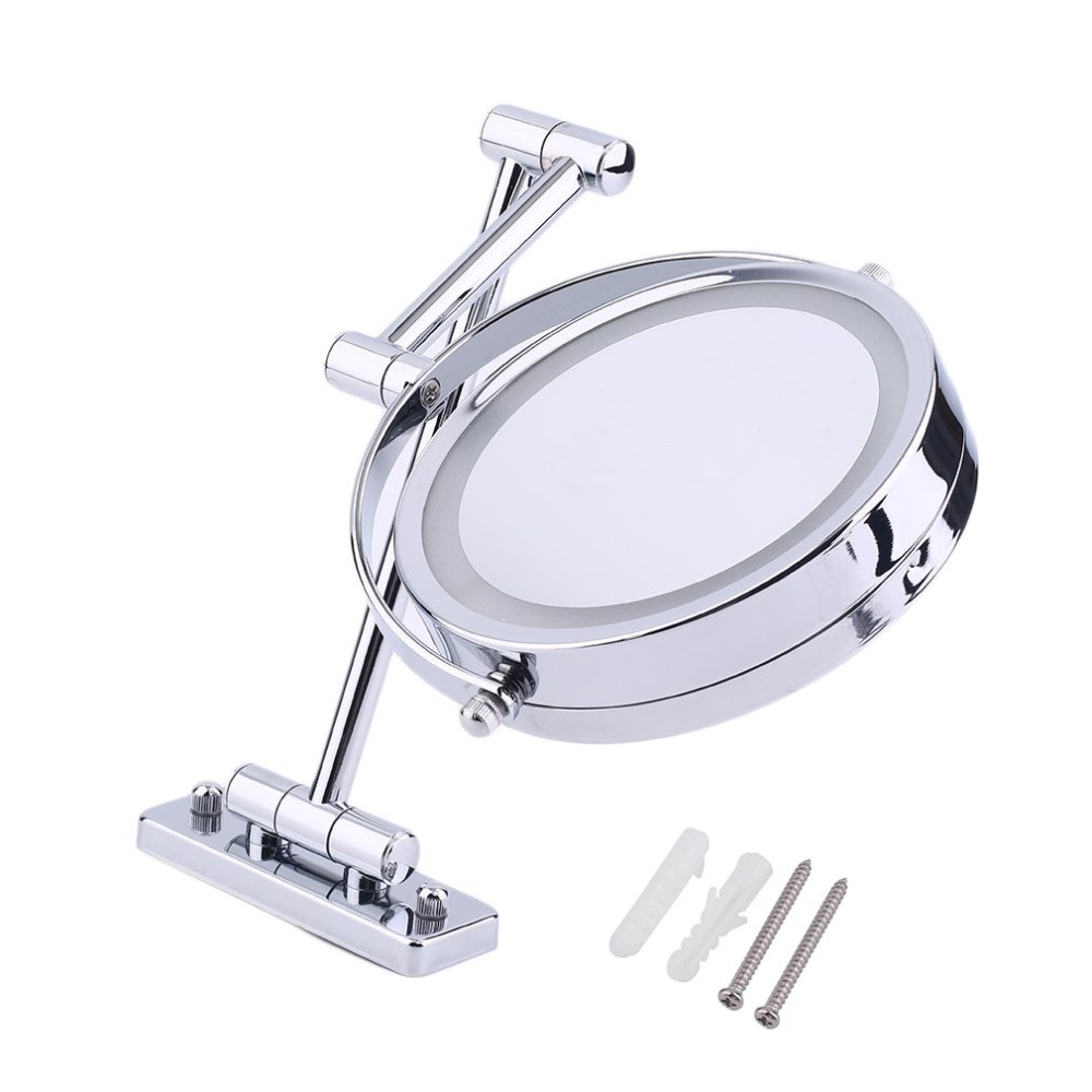 Makeup Mirror Vanity LED Light Bulbs Kit for Dressing Table with Dimmer and Power Supply Plug in Extend Double Side Bathroom