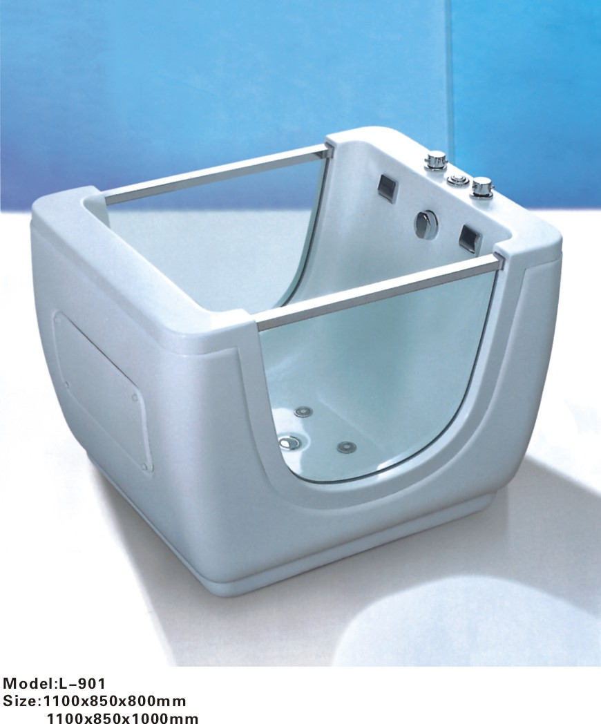 Popular small bathtub buy cheap small bathtub lots from for Short bathtub length
