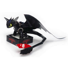 3D puzzles model How to train your dragon toothless night fury paper puzzle DIY kids birthday gift, not finished item