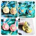 2 unids/lote moda de nueva lindo oveja fresca gato de pelo anillo de cuerda de pelo accesorios para para niñas envío gratis