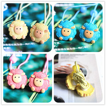 2pcs/lot new fashion cute fresh sheep cat hair ring rope accessories for women girl children Free Shipping