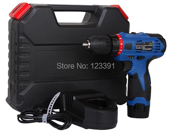 Free shipping GP blow case package 12V Lithium Battery multifunctional drill for home use with reversing with professional sets free shipping 48v 15ah battery pack lithium ion motor bike electric 48v scooters with 30a bms 2a charger