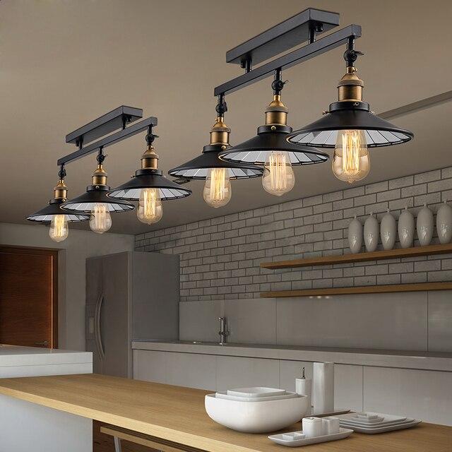 Amerikaanse Platteland Antieke Celing Lamp Vintage hanglamp Loft ...