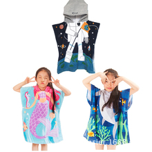 70cm baby cotton hooded animal baby bathrobe soft children towel cartoon animal shape children bath towel baby towel 2019