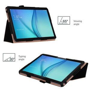 Image 2 - Per Huawei MediaPad M5 Lite 10 di Cuoio di Caso Del Basamento Tablet Cover Per Huawei M5 lite 10.1 BAH2 W19 BAH2 L09 BAH2 W09 + film