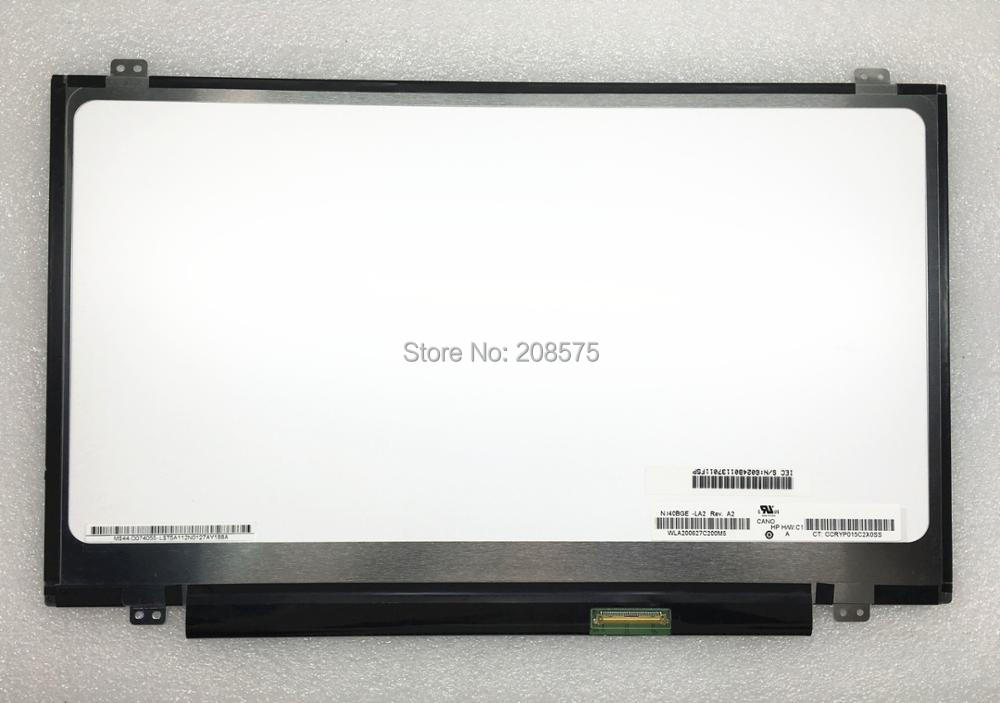 Free shipping 14.0''inch N140BGE-LA2 LP140WHU TLB1 N140BGE L42 L43 LP140WH2 TLA2 laptop lcd screen 1366*768 LVDS 40pins gunsafe bs95 l43