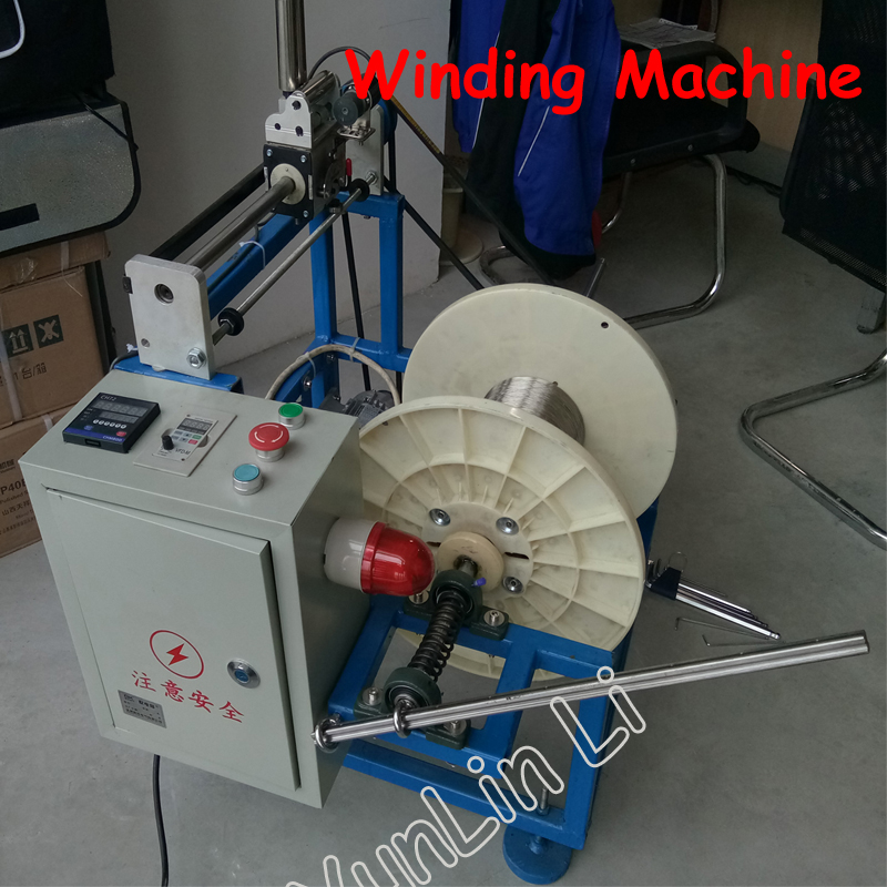 Frequency Converting Machine Winding Machine Automatic Winding Machine Wrapping Wheel Meter Counting QP-400 комплект фибровых дисков для qp 215 3 шт mighty seven qp 215t26