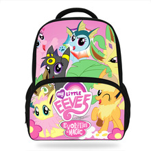 Children Anime Pokemon Jolteon Animals Backpack Girls Cartoon Cute Kindergarten Backpacks  Kids School Bags Bookbag