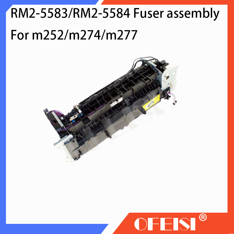 Original 95%New RM2-5583 RM2-5584 Fuser assembly for HP CLJ Pro M252DW M252n M274 M277DW M277N Fuser kit printer parts on sale tested 90% new power supply board for hp lj pro m402n m402dn m403n m403dn rm2 8516 rm2 8517 printer parts on sale