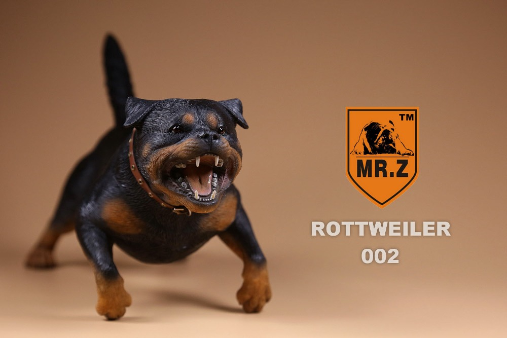 1/6th Scale Figure accessories Resin model toys German Rottweiler dog for 12 Action figure doll,not include doll and other 1 6 scale nude male body figure muscle man soldier model toys for 12 action figure doll accessories
