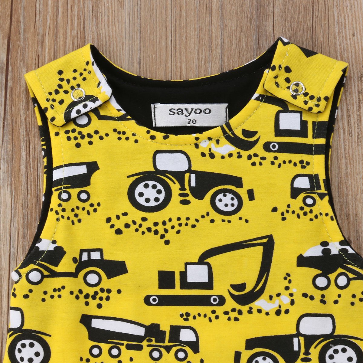 f9b5d8327f9 Newborn Kids Baby Boy Sleeveless Romper Jumpsuit Playsuit Summer Clothes  Motorcycle Printed Cute Boy Outfits 0 18M-in Rompers from Mother   Kids on  ...