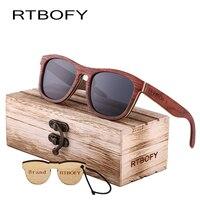 RTBOFY 2017 Multi Storey Wooden Sunglasses Fashion Designer Glasses Men Polarization 100 Wooden Sunglasses
