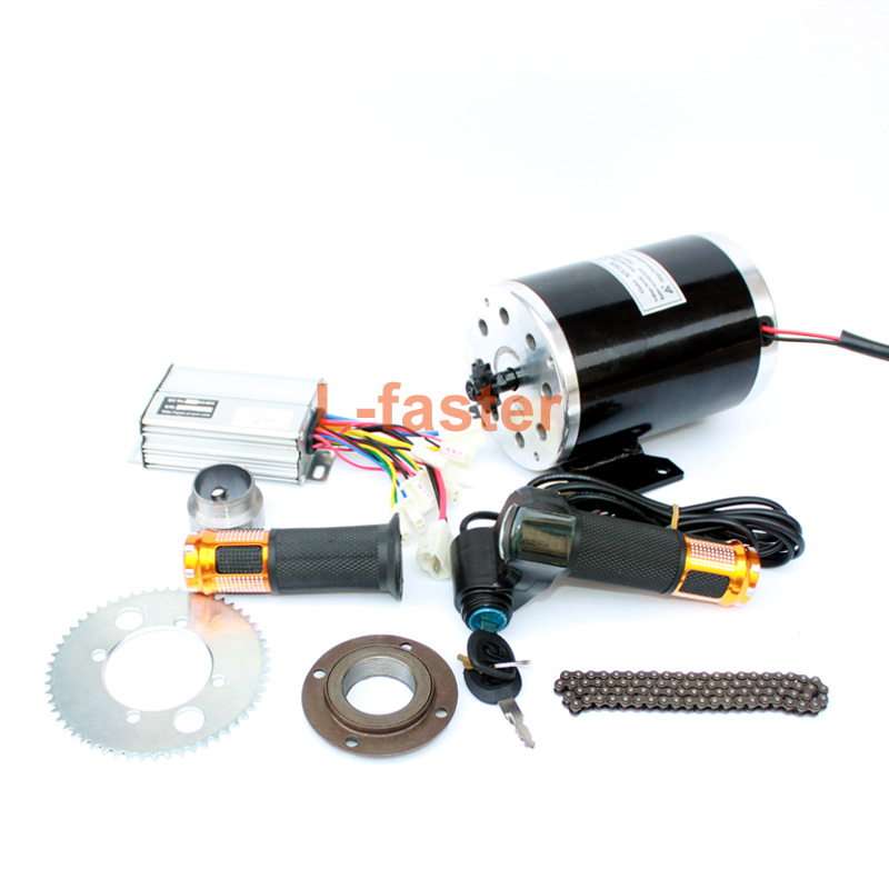 1000W Electric Motorcycle Motor Kit Use 25H Chain Drive High Speed Electric Scooter Replacement Electric Karting