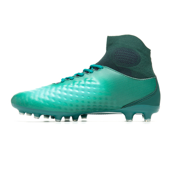 Football Shoes football shoes for men high cleats soccer original With Socks Professional Boot FOOTBALL WITH ANKLE BOOTS фото