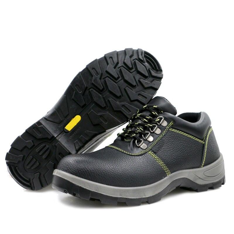 Leren Werkschoenen.Beste Koop Nieuwe Veiligheid Schoenen Lederen Heren Werkschoenen