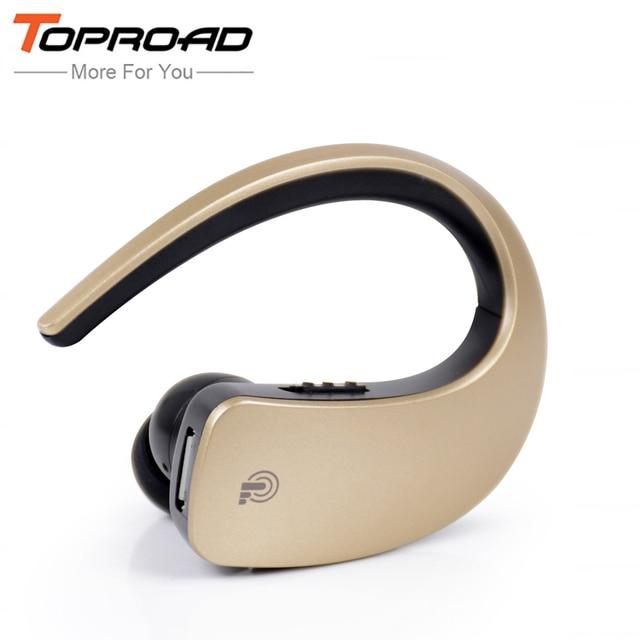 TOPROAD мини-гарнитура Bluetooth Портативный Беспроводной наушников  Blutooth наушники-вкладыши Auriculares с микрофоном для a782cff43b92e