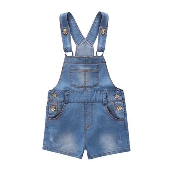 Chumhey 9M-4T Baby Rompers summer Boys Girls Shorts Jeans Babe Overalls Infant Clothes Kids Jumpsuit Child Clothing 12 M 2 Years 1