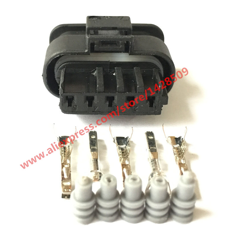 5 sets 5 pin waterproof female hirschmann auto connector housing 5 pin waterproof female hirschmann auto connector housing plug 872 860 541 872 860 546 for benz bmw vw cheapraybanclubmaster Gallery