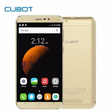 Original Cubot Dinosaur 5.5 Inch Mobile Phone MT6735A Quad Core Android 6.0 Cell Phone 3G RAM 16G ROM 13.0MP 1280x720 Smartphone