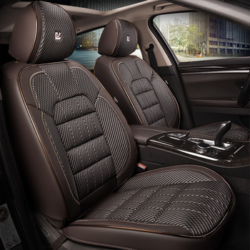 New Four Seasons Luxury leather General  Car Seat Cover For BMW Audi Toyota Honda Ford  Car Styling