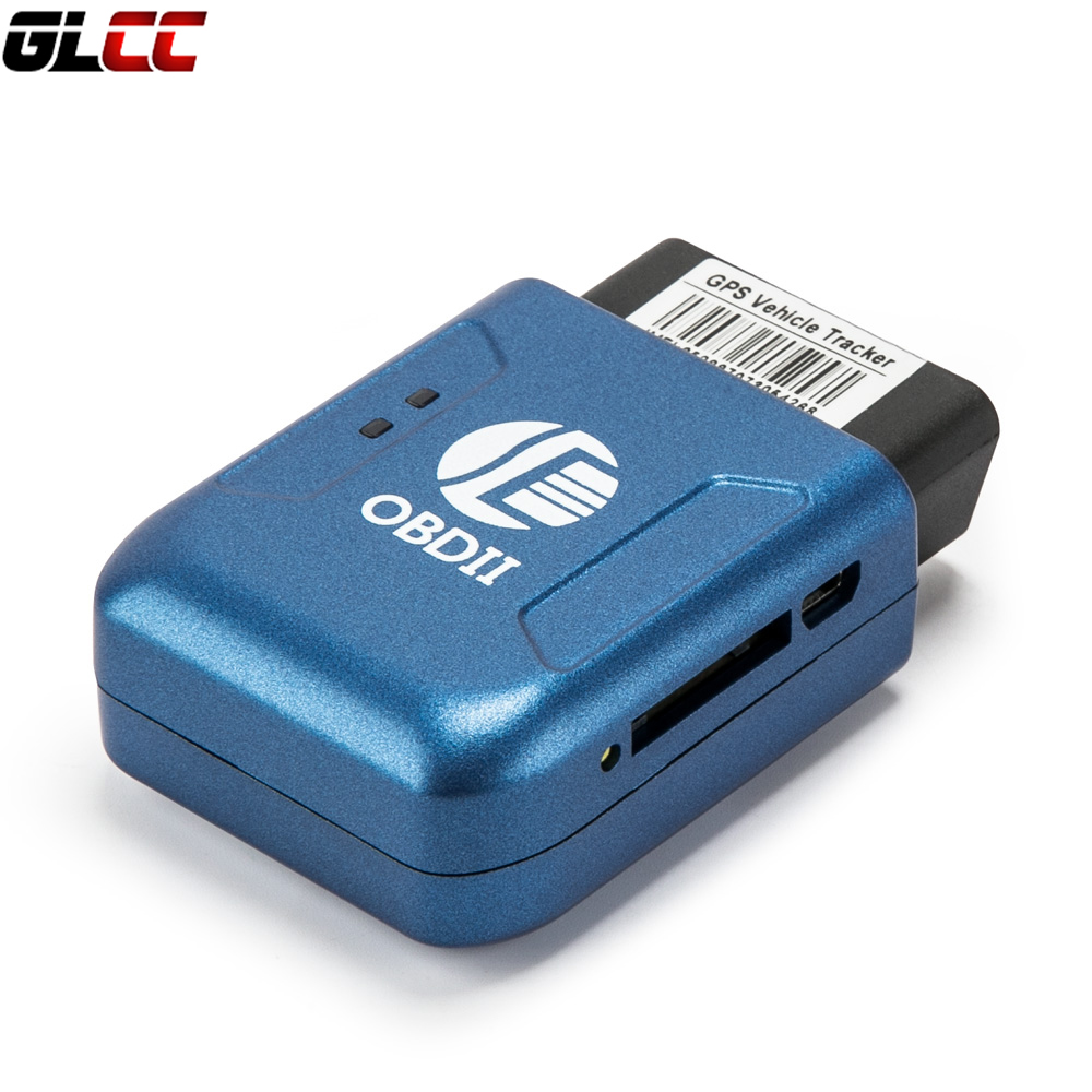 OBD II Car Vehicle Truck Auto GPS Realtime Tracker Mini OBD2 Tracking Device GSM GPRS h06a multi functional gsm gps gprs car vehicle tracker black