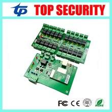 Livraison Gratuite TCP/IP 20 Étages Biométrique D'empreintes Digitales Et RFID Ascenseur Carte De Contrôle D'accès Ascenseur Contrôleur Système