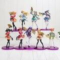 15-19 cm Anime Love Live Sonoda Honoka Minami Kotori Figura PVC Umi Yazawa Niko com Fãs Meninas Bonitos Modelo Boneca para coleção