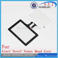 """New 7 """"inch Ainol Novo7 novo 7 Vênus Quad Core Tablet painel touch screen digitador Sensor de Vidro Substituição Frete Grátis"""