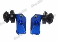 Left & Right Swingarm Swing Arm Spool Slider Adapters Mounts For Yamaha YZF R3 R25 2013 2014 2015 2016