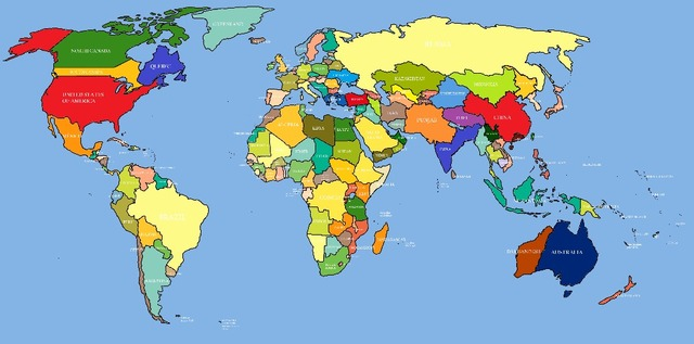 World Map To Print Radiovkm Tk