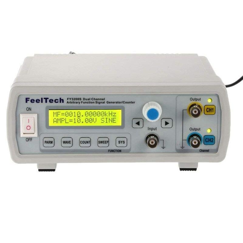 Générateur de Signal de fonction de générateur de Signal de fonction de DDS, double canal, formes d'onde arbitraires, mètre de fréquence d'impulsion, 12 Bits 250 M