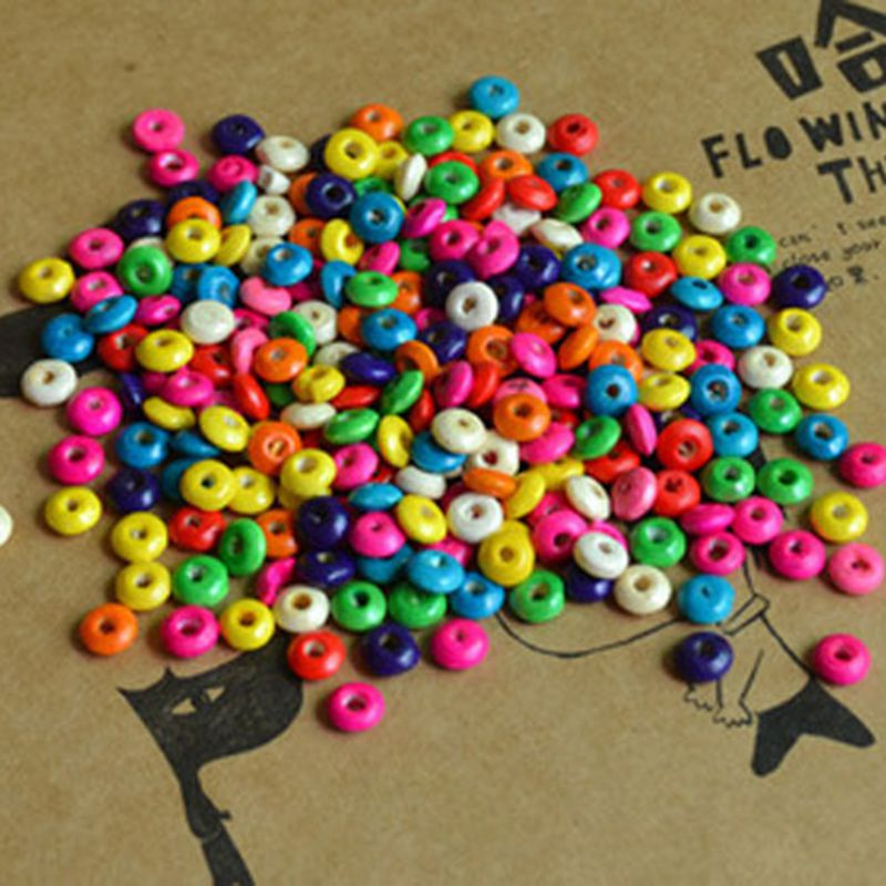 2000pcs/bag Jewelry DIY jewelry accessories wooden bead ...