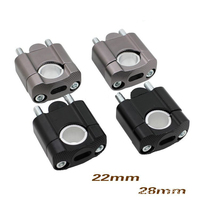 Off Road Motorcycle Bar Clamps Raised Handlebar Handle Bar Risers For 22MM 7 8 28MM 1