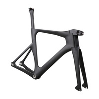 New Carbon track frame carbon bicycle track cycling frame