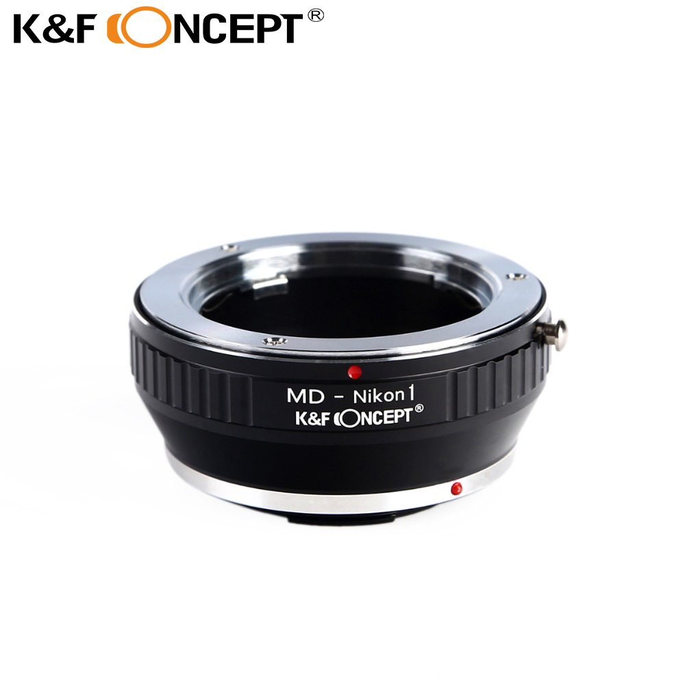 K&F CONCEPT Lens Mount Adapter for Minolta MD MC Lens to for Nikon 1-Series Camera for Nikon V1 J1 Mirrorless Mount Adapter цены