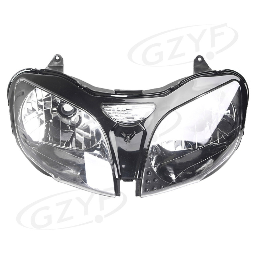 Motorcycle Headlight Headlamp for Kawasaki Ninja ZX9R 2000 2001 2002 2003 & ZX6R 2000 2001 2002 & ZZR600 / ZX600J 2000 - 2008 motorcycle fairing kit for kawasaki ninja zx9r 2000 2001 purple black fairings set zx9r 00 01 ot01