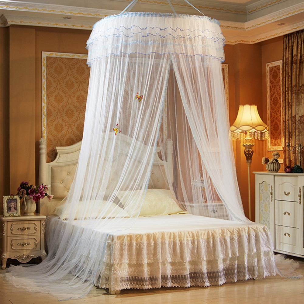 luxury romantic hang dome mosquito net princess students insect