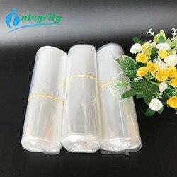 Integralności 100-500 pcs wszystkie rozmiary POF przezroczysty ciepła z tworzywa sztucznego worek termokurczliwy prezent opakowanie do przechowywania kieszeń na DIY rzemiosło wrap kosmetyczne